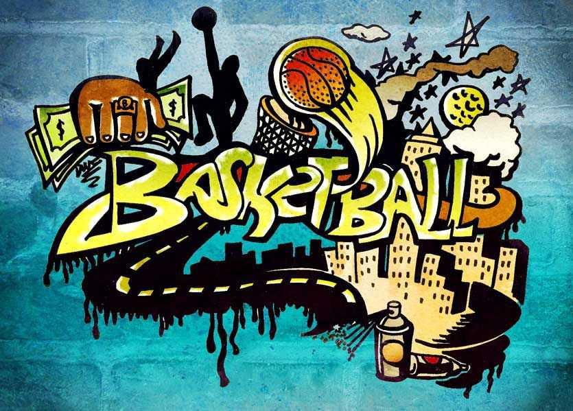 Basketball graffiti wallpapers