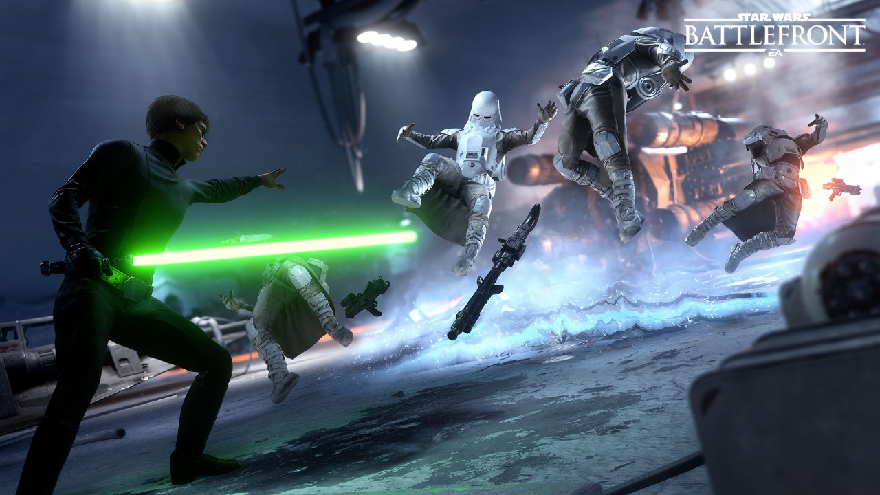Star Wars Battlefront E3 2015 Walker Assault Gameplay Captured On PS4 1280x720