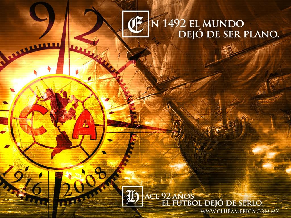 CLUB AMERICA Wallpaper Background Theme Desktop 1024x768