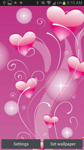 cute hearts wallpaper wallpapersafari