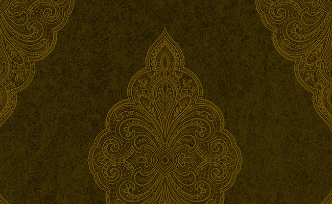 Embroidered Wallpaper in Browns design by Carl Robinson   mnv7a8w 650x400