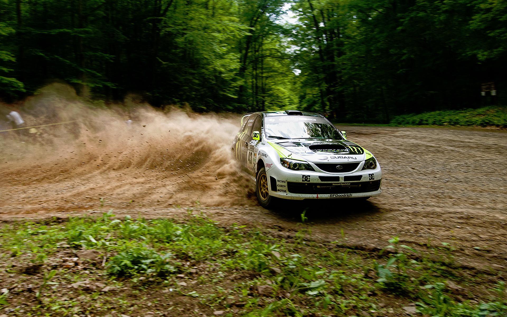 Wallpaper Subaru wrx ken block drift dust Subaru impreza 1920x1200