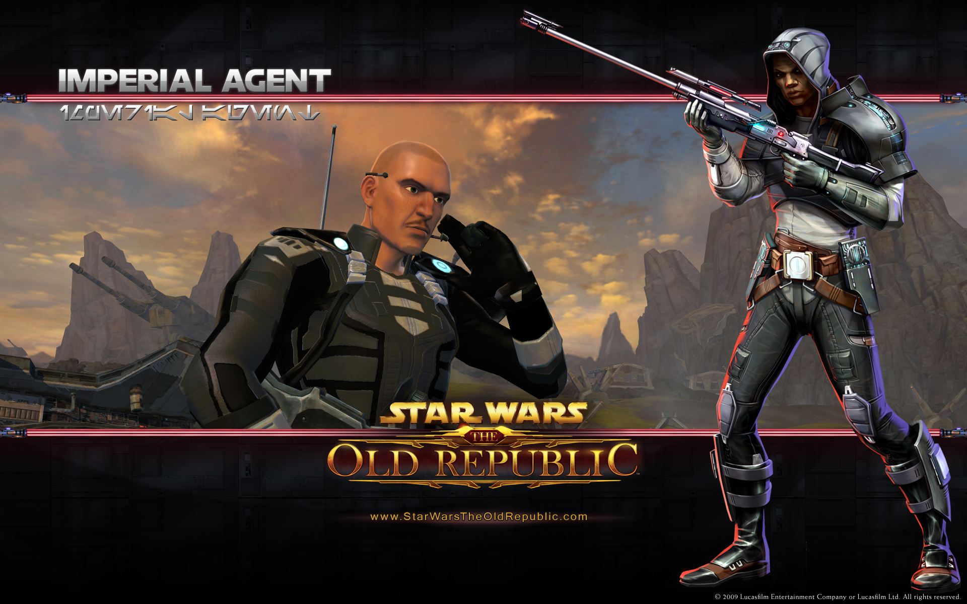 Old Republic Imperial Agent Wallpapers Old Republic Imperial Agent 1920x1200