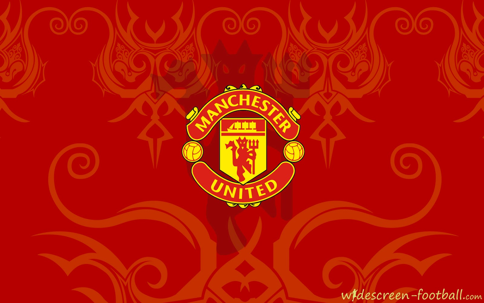 Manchester united beautiful logo wallpaper Manchester United 1600x1000