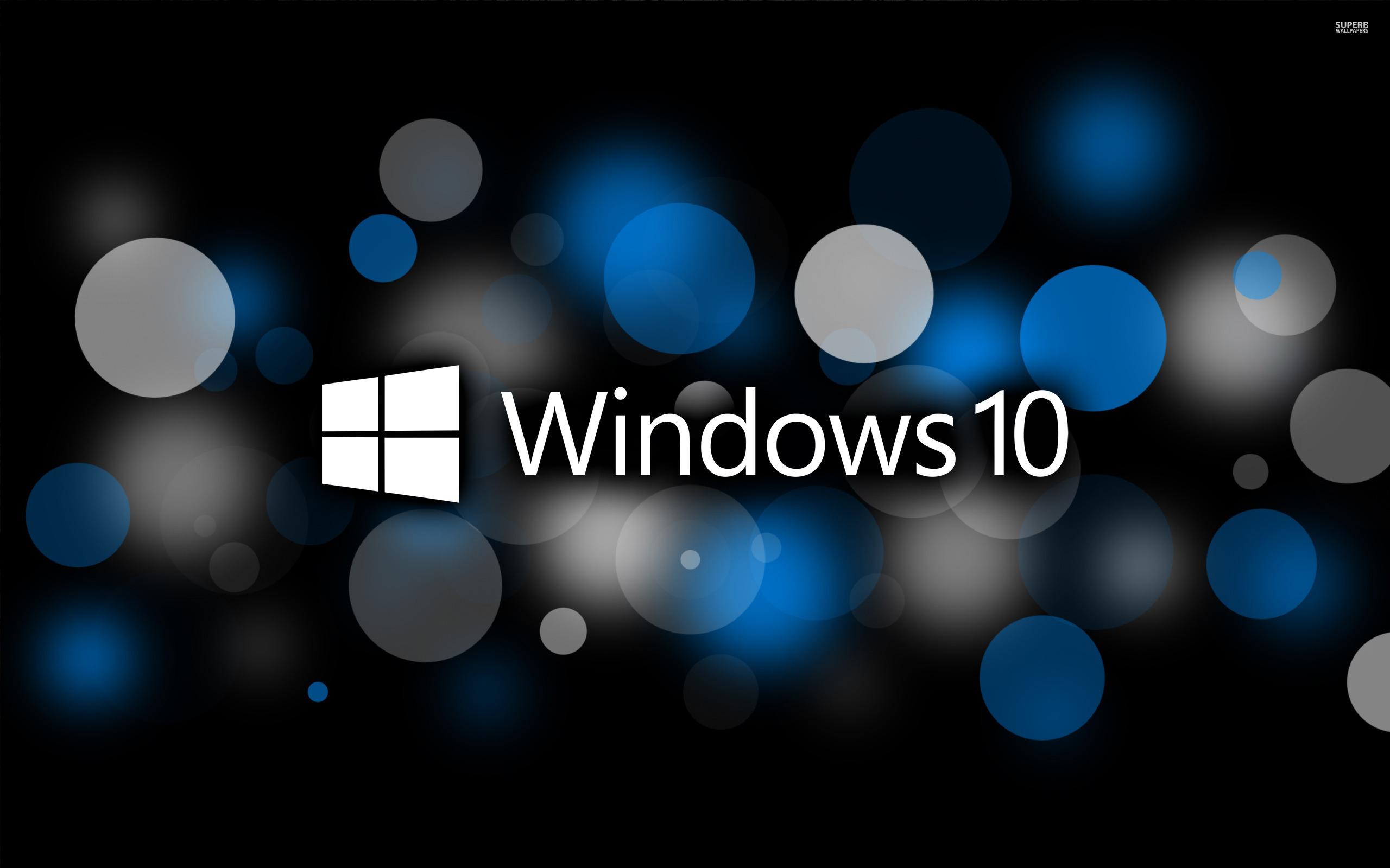 Windows 10 Black Wallpaper Wallpapersafari