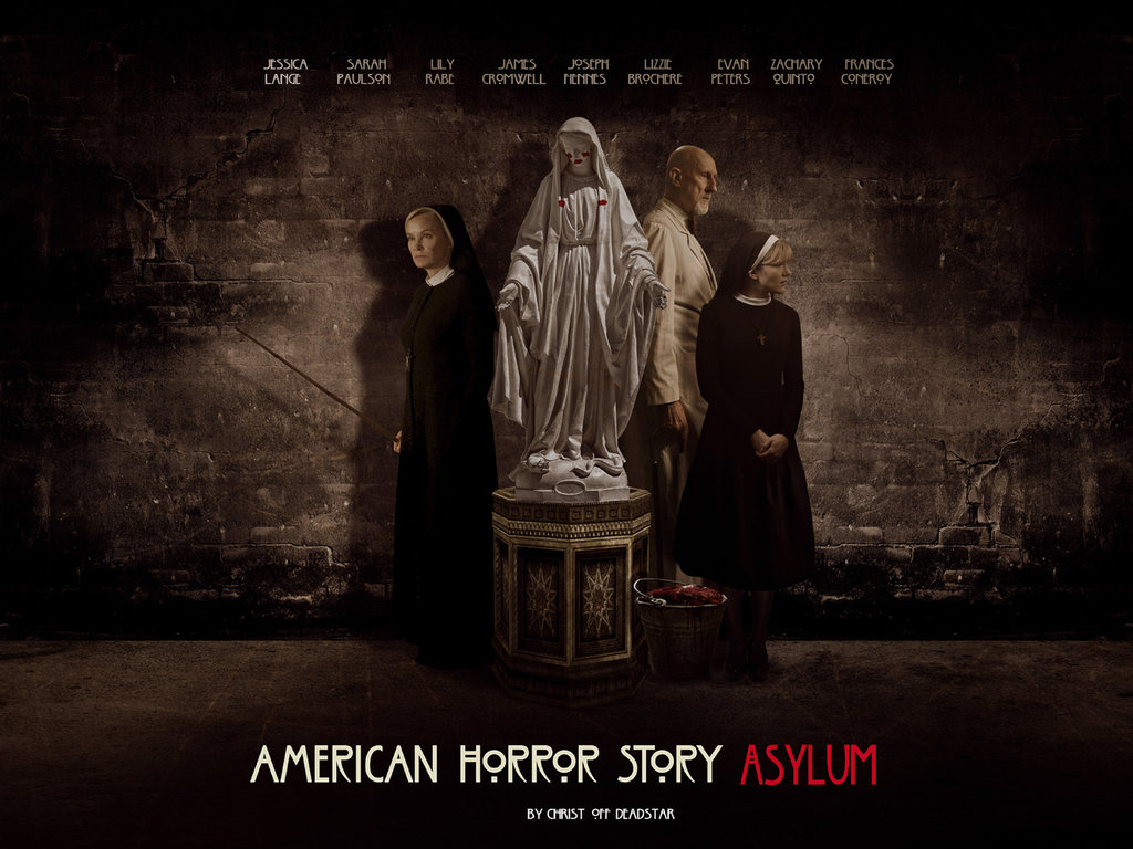 Free Download Ahs Asylum Wallpaper By Christ Off 1024x768 For