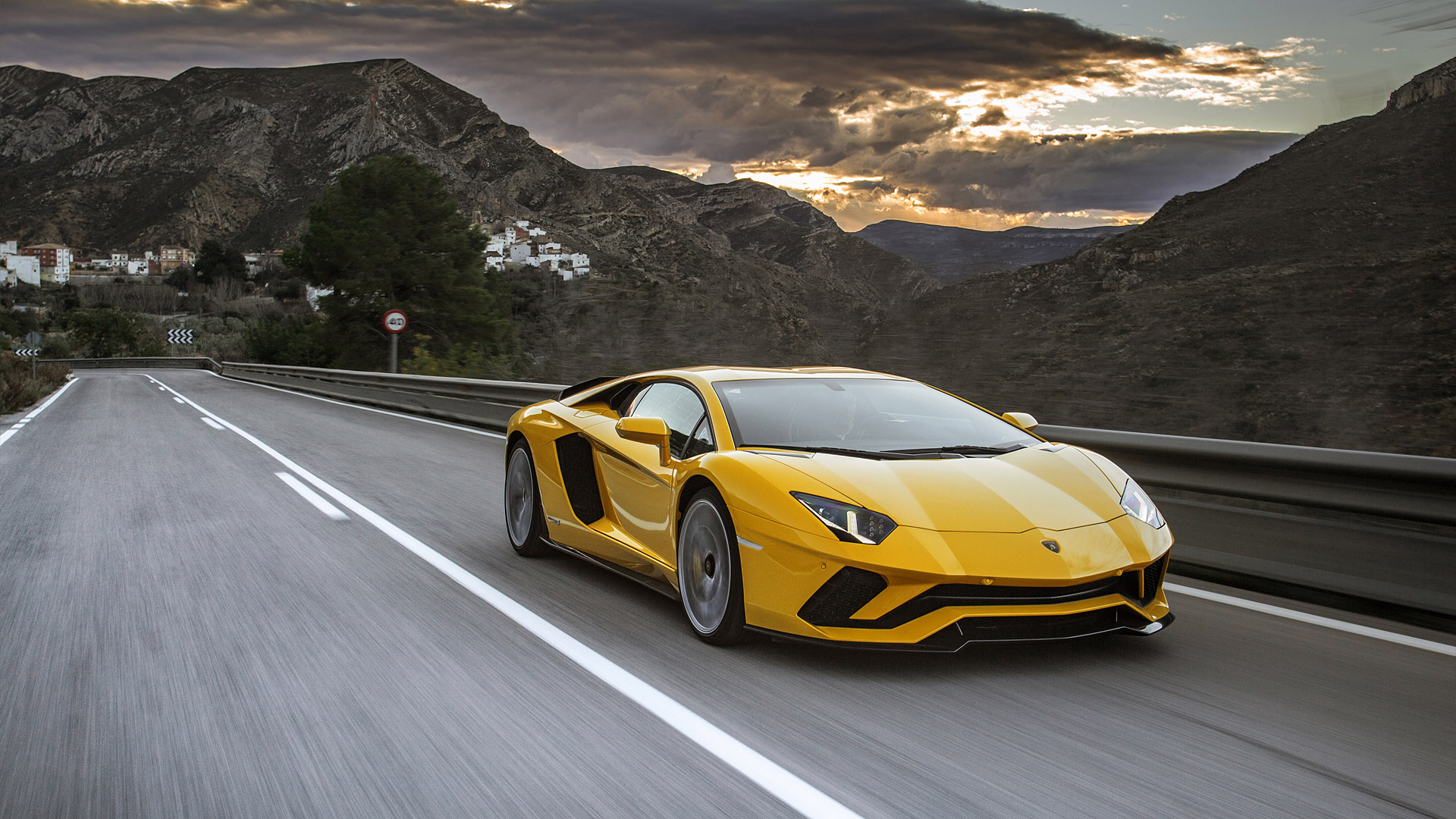 2017 Lamborghini Aventador S Wallpapers HD Images   WSupercars 1920x1080