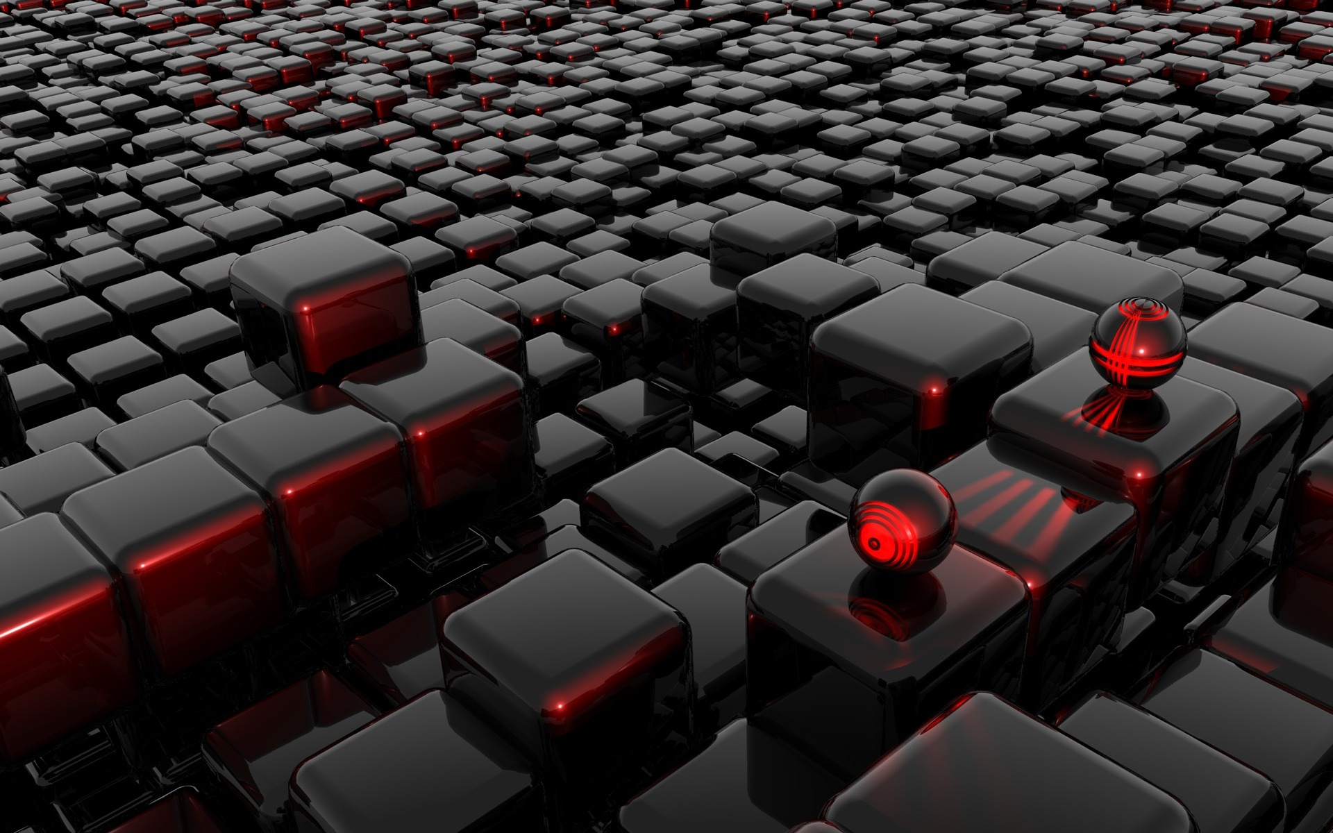 The Cube 3D Exclusive HD Wallpapers 2120 1920x1200