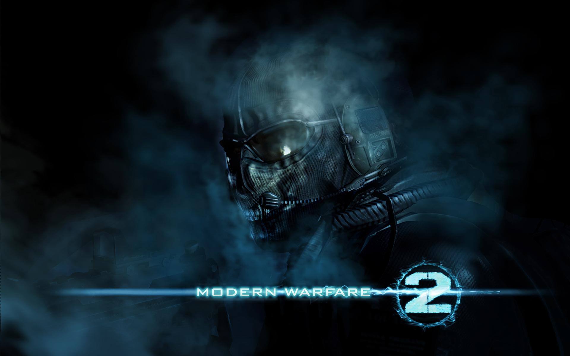 Warfare 2 Ghost Wallpapers Modern Warfare 2 Ghost Myspace Backgrounds 1920x1200