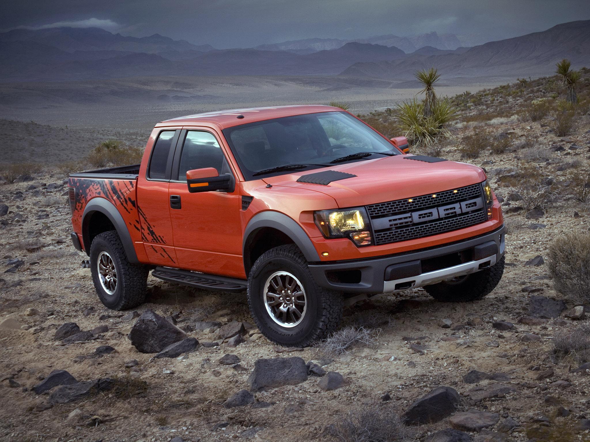 2008 Ford F 150 Raptor SVT 4x4 truck offroad wallpaper background 2048x1536