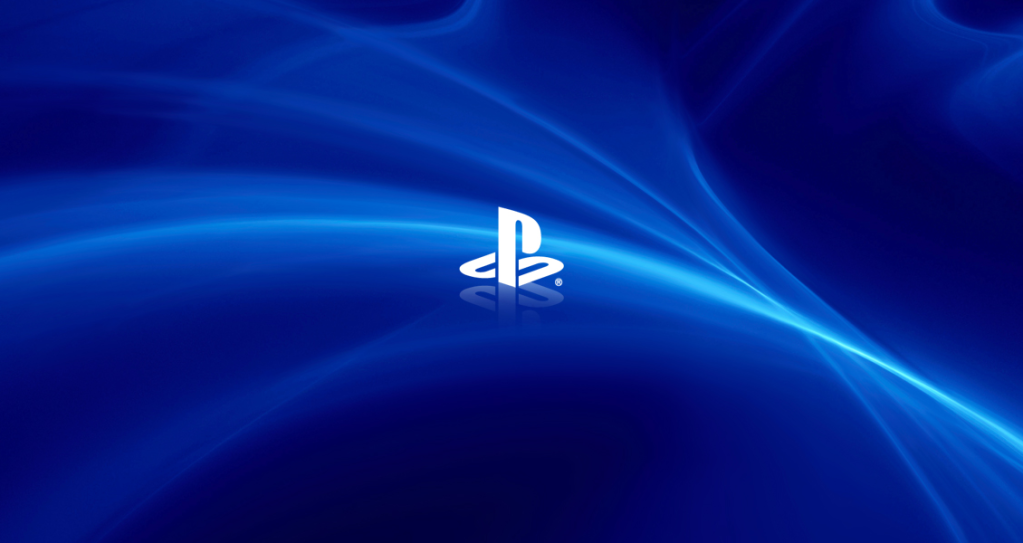 PlayStation Logo Wallpaper 1023x543