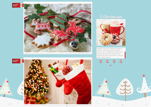Christmas theme 3 by work it out 500x356