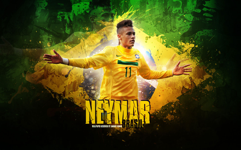 Neymar Brazilian Striker Wallpaper   Football HD Wallpapers 1440x900