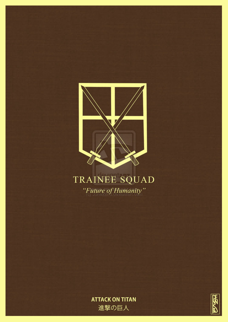 Attack on Titan   Trainee Squad by June22nd 752x1063