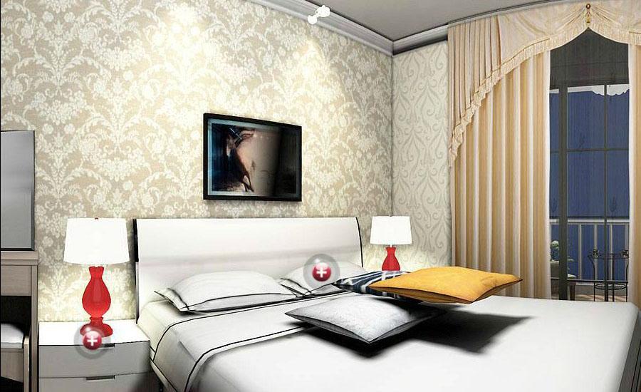 Home wallpaper design for bedroom Download 3D House 900x550