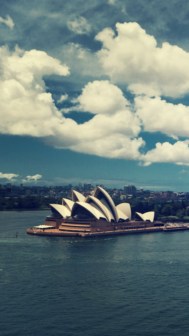 Sydney Opera House iPhone 5s Wallpaper Download iPhone Wallpapers 640x1136