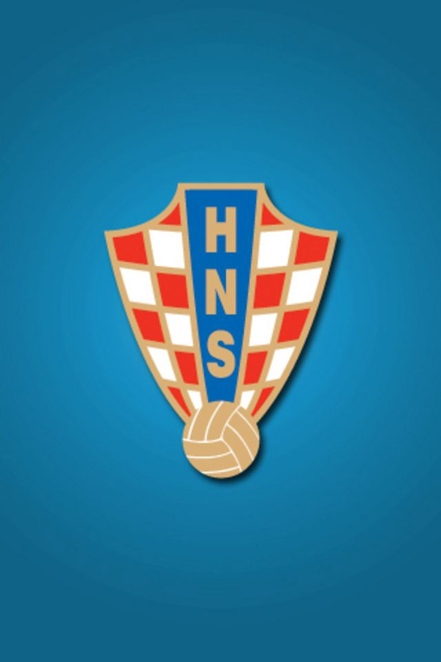 Croatia Football Logo iPhone Wallpaper HD 640x960