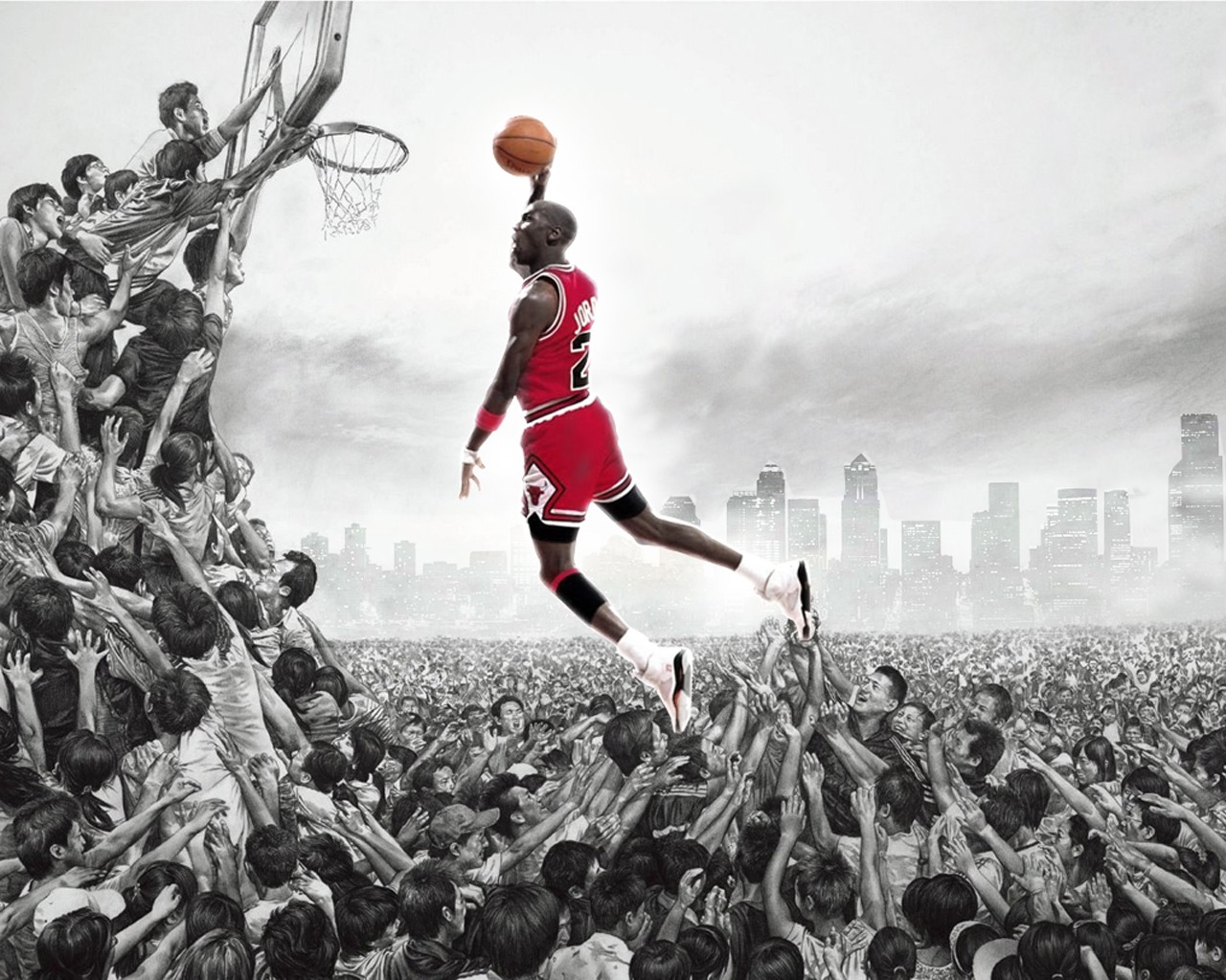 45 Michael Jordan Wallpaper Slam Dunk On Wallpapersafari
