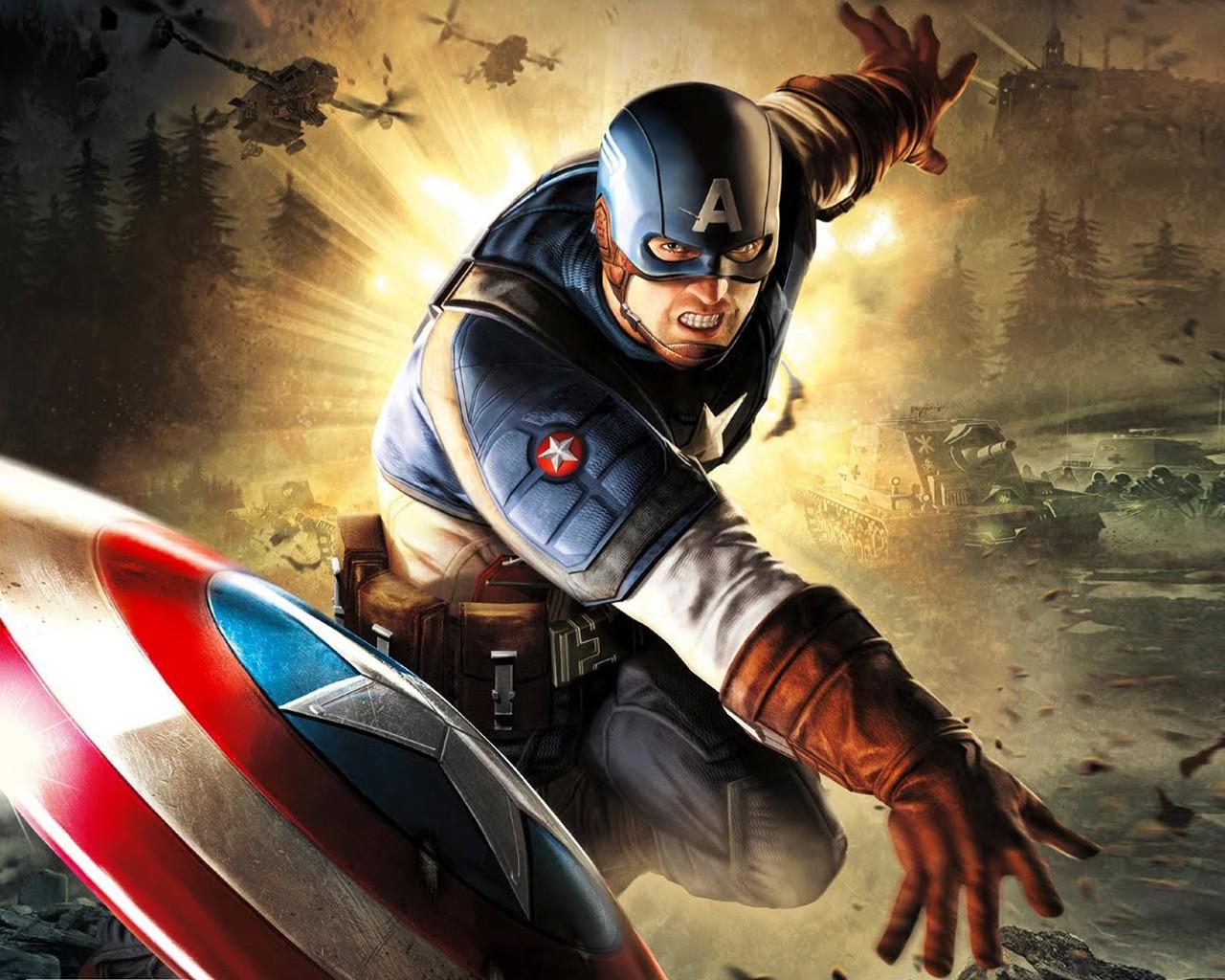 captain america   Marvel Comics Wallpaper 37040129 1280x1024