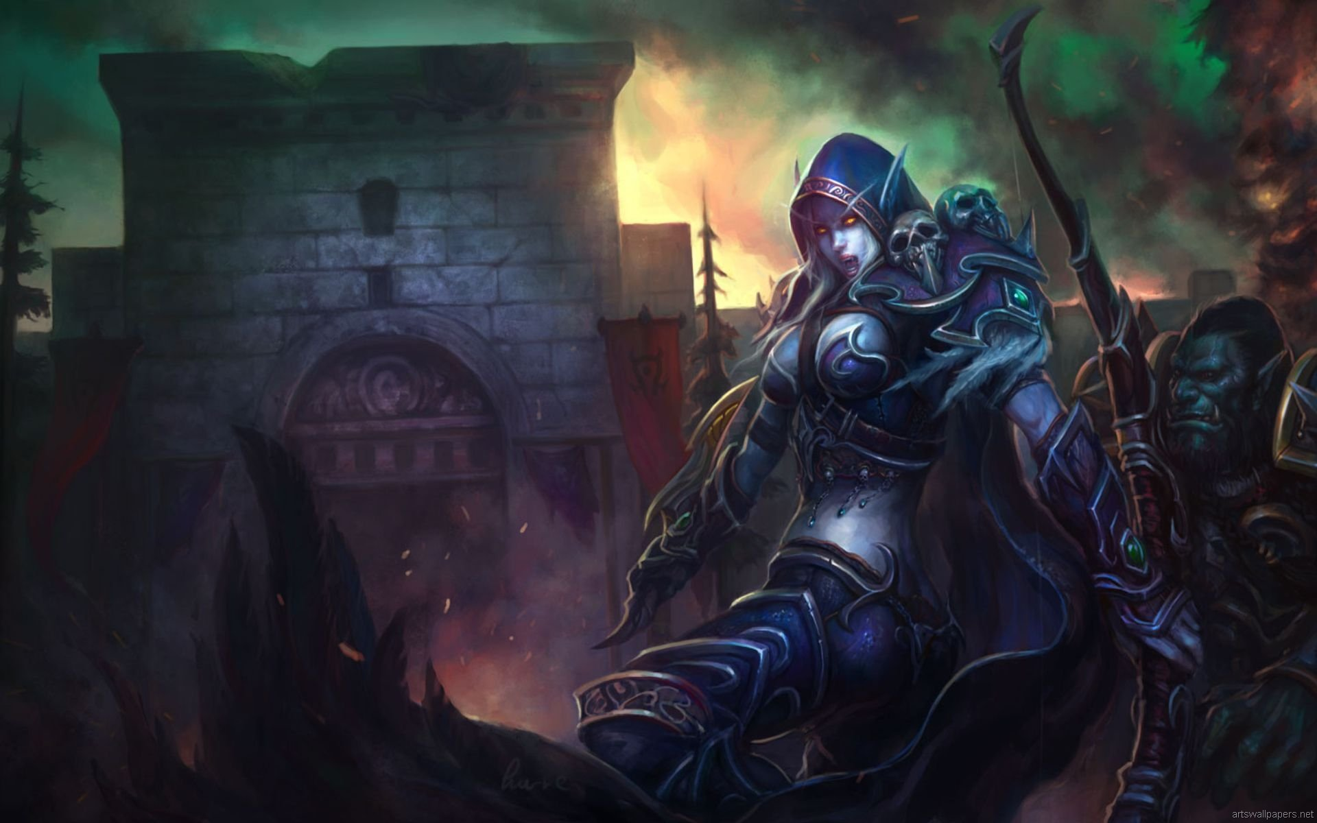 world of warcraft background wallpapers Desktop Backgrounds for 1920x1200