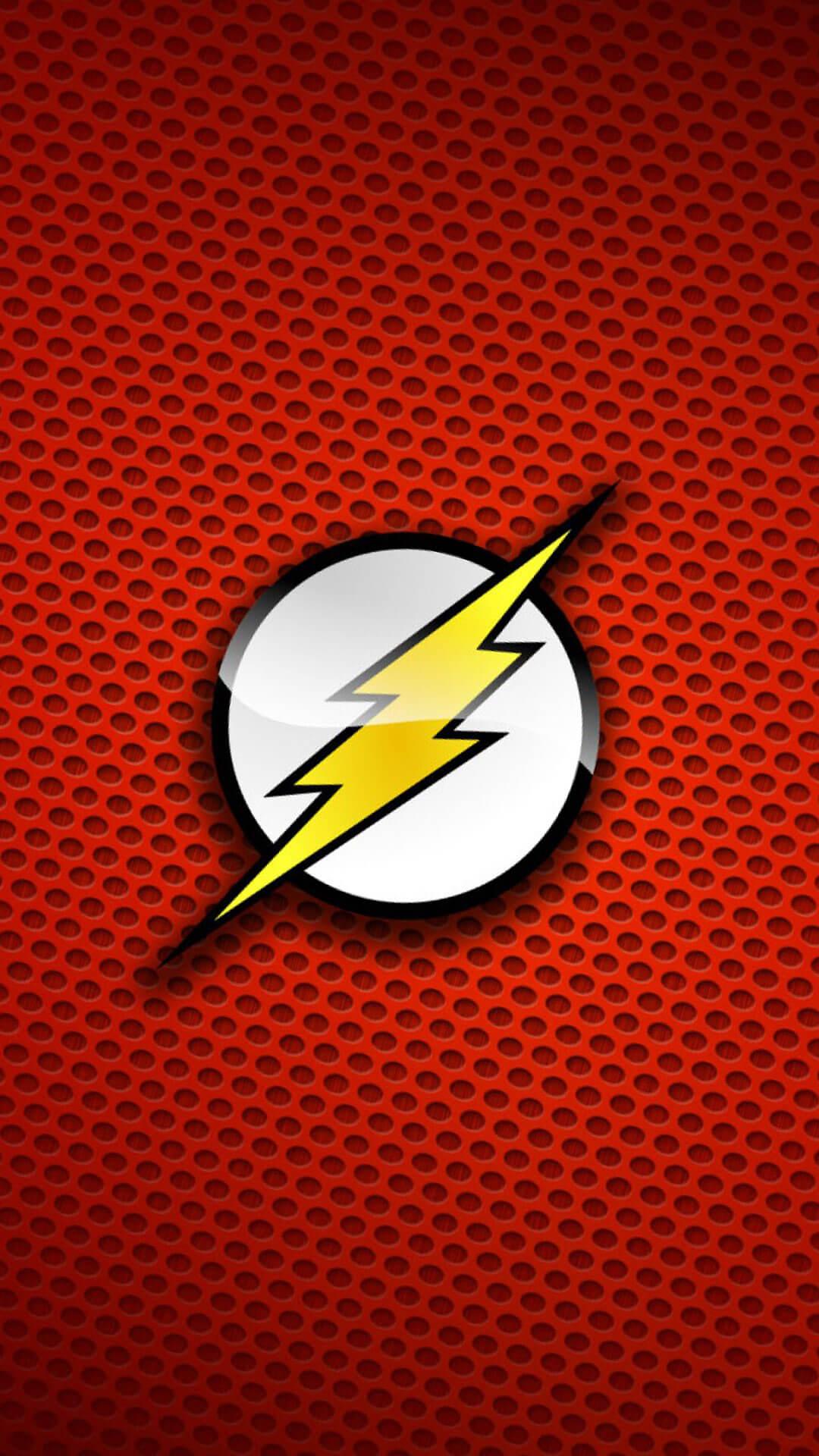 The Flash Logo iPhone 6 Wallpaper   HD Wallpaper iPhone 1080x1920