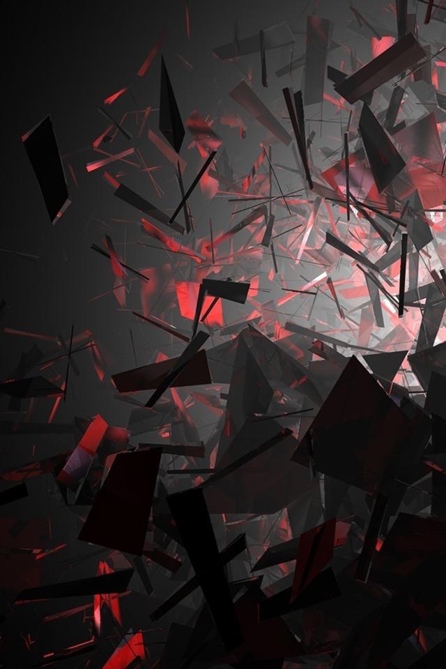 Black and Red iPhone Wallpaper - WallpaperSafari