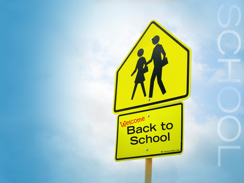 School Back to School Wallpapers by Katenet 1024x768