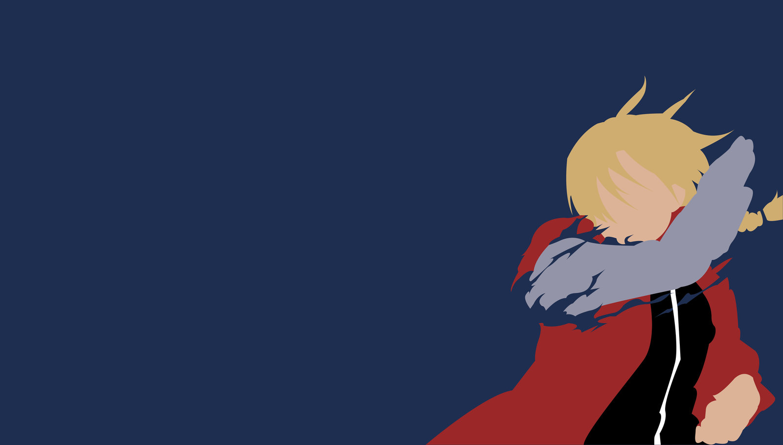 Full Metal Alchemist   Minimalist Wallpaper by Kinokocchi 1600x910