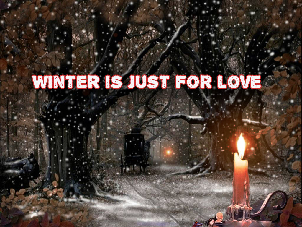 hd winter desktop background quote