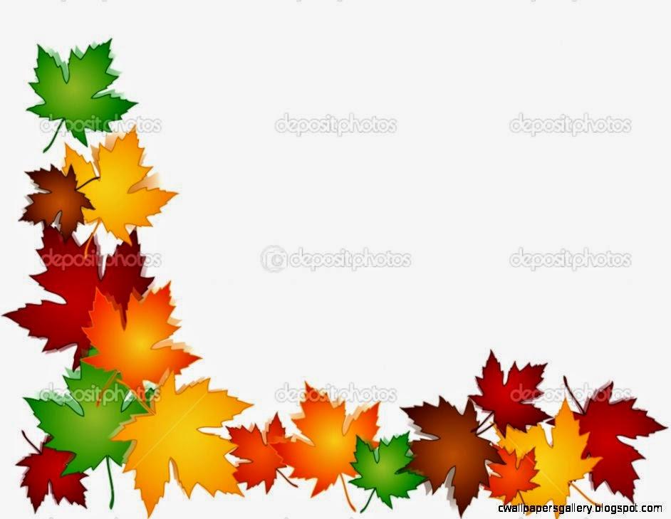 Leaves Border Clip Art Mewarnai 942x729