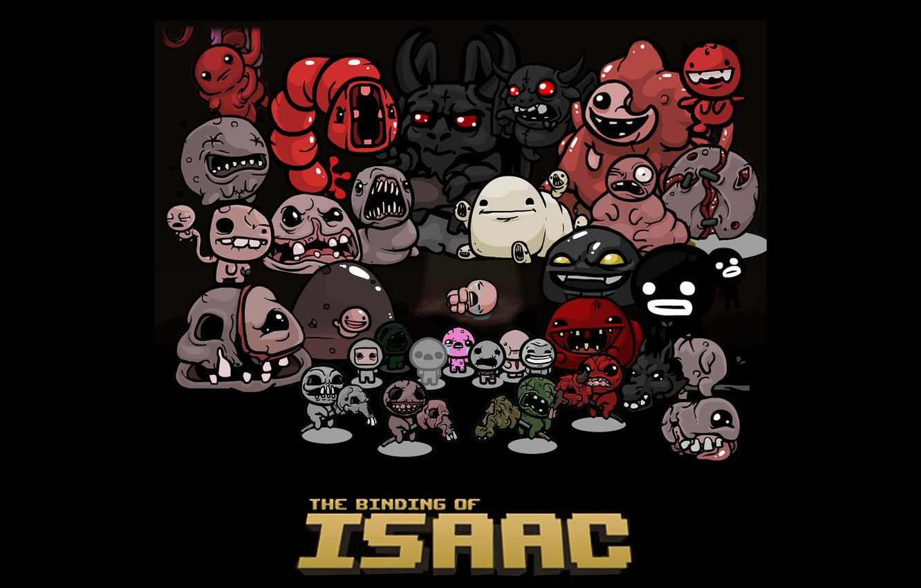 Wallpaper game indie The Binding of Isaac images for desktop 1332x850