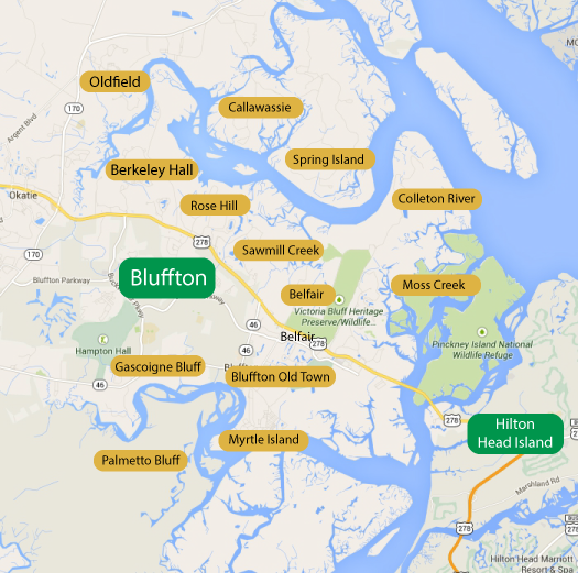 Bluffton SC Waterfront Homes For Sale   ThingLink 525x521
