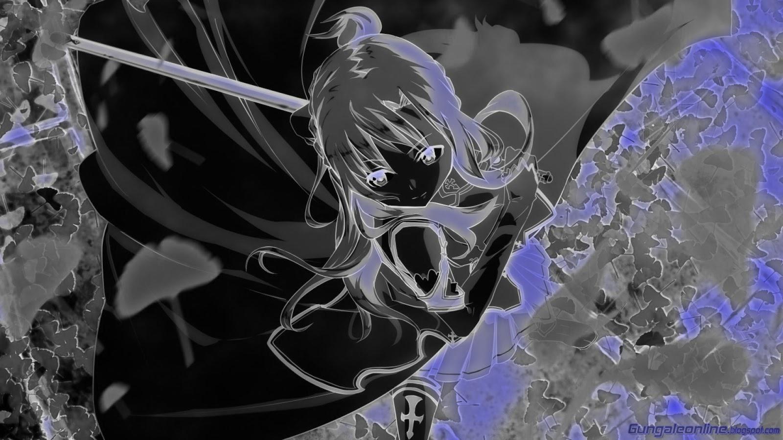 wallpapers Neon Grow Gun Gale Online Anime Mobile Wallpaper HD 1600x900