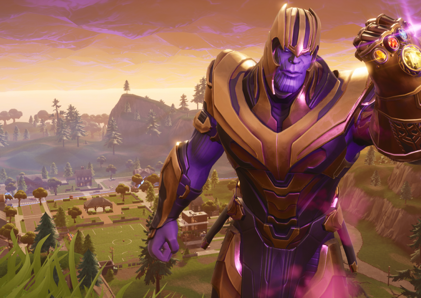 Download 1400x990 Fortnite Thanos Wallpapers   WallpaperMaiden 1400x990