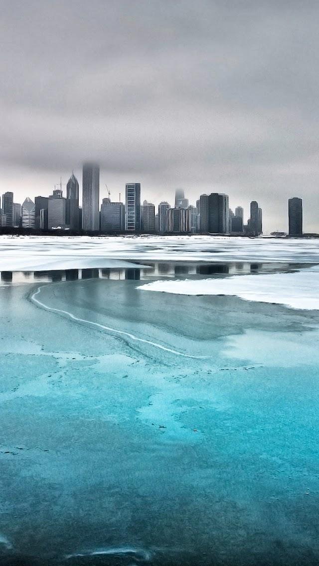 Frozen City iPhone Wallpaper iPhone Wallpaper 640x1136