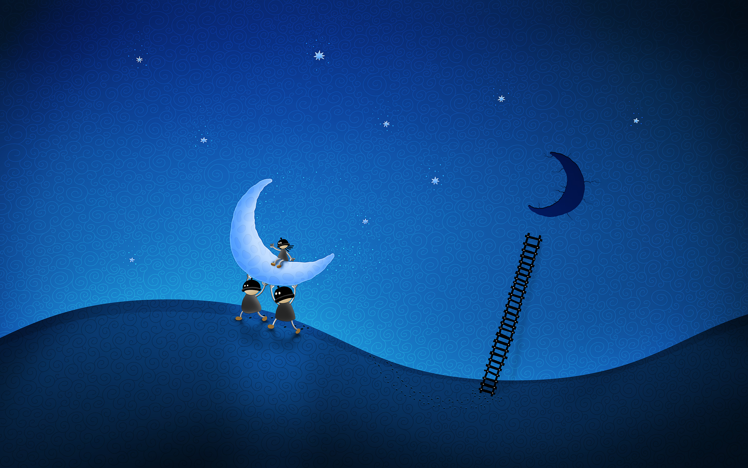 Stole the moon Wallpapers HD Wallpapers 2560x1600