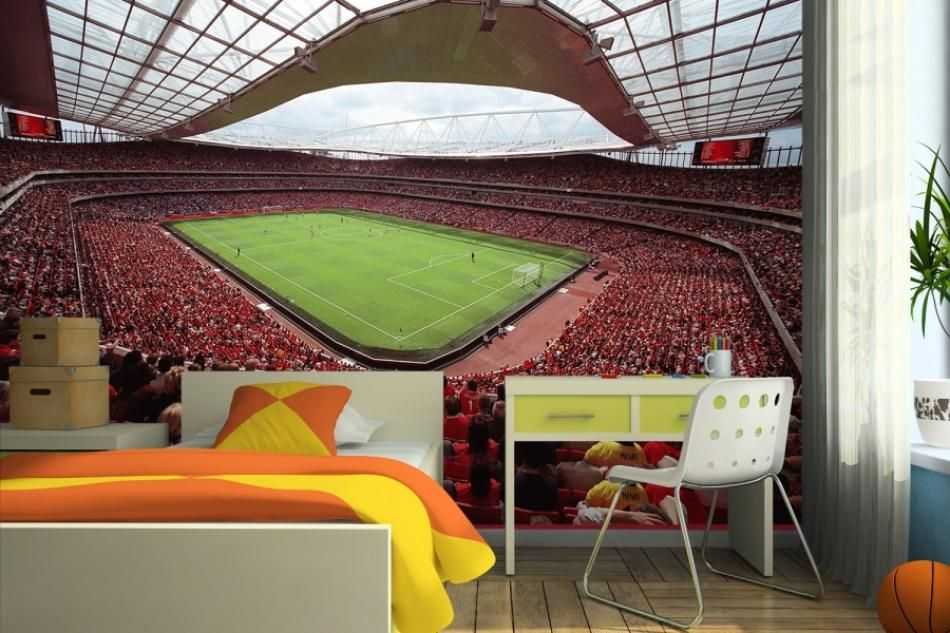 arsenal bedroom wallpaper   Google Search SkyPeak Design 950x633