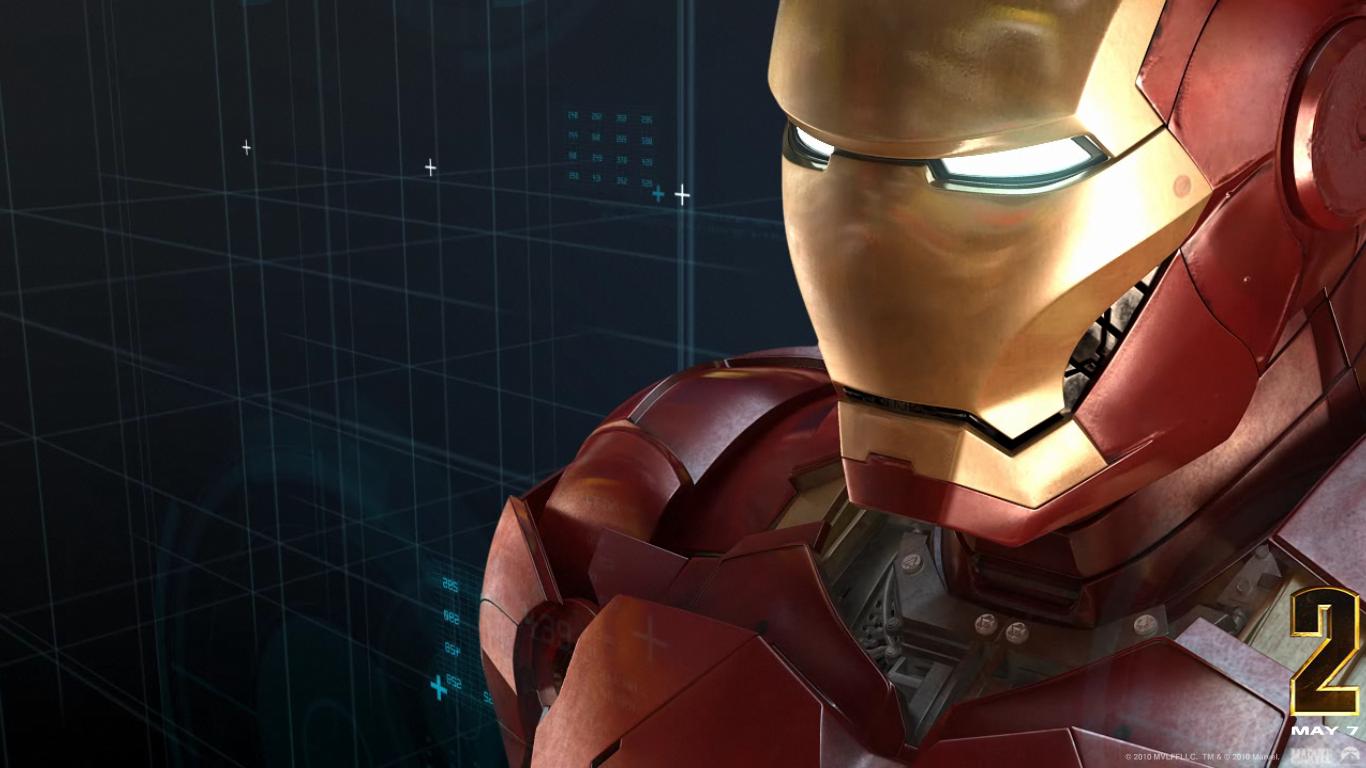 Iron Man Screensaver 1366x768