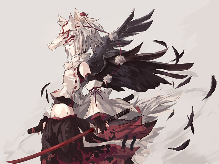 for anime white wolf demon go back gallery for anime white wolf 700x525