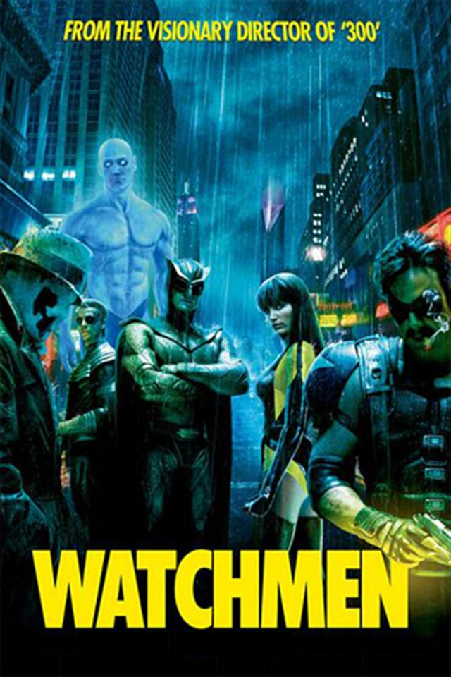 Watchmen Wallpaper iPhone Wallpapers iPhone 5s4s3G Wallpapers 640x960