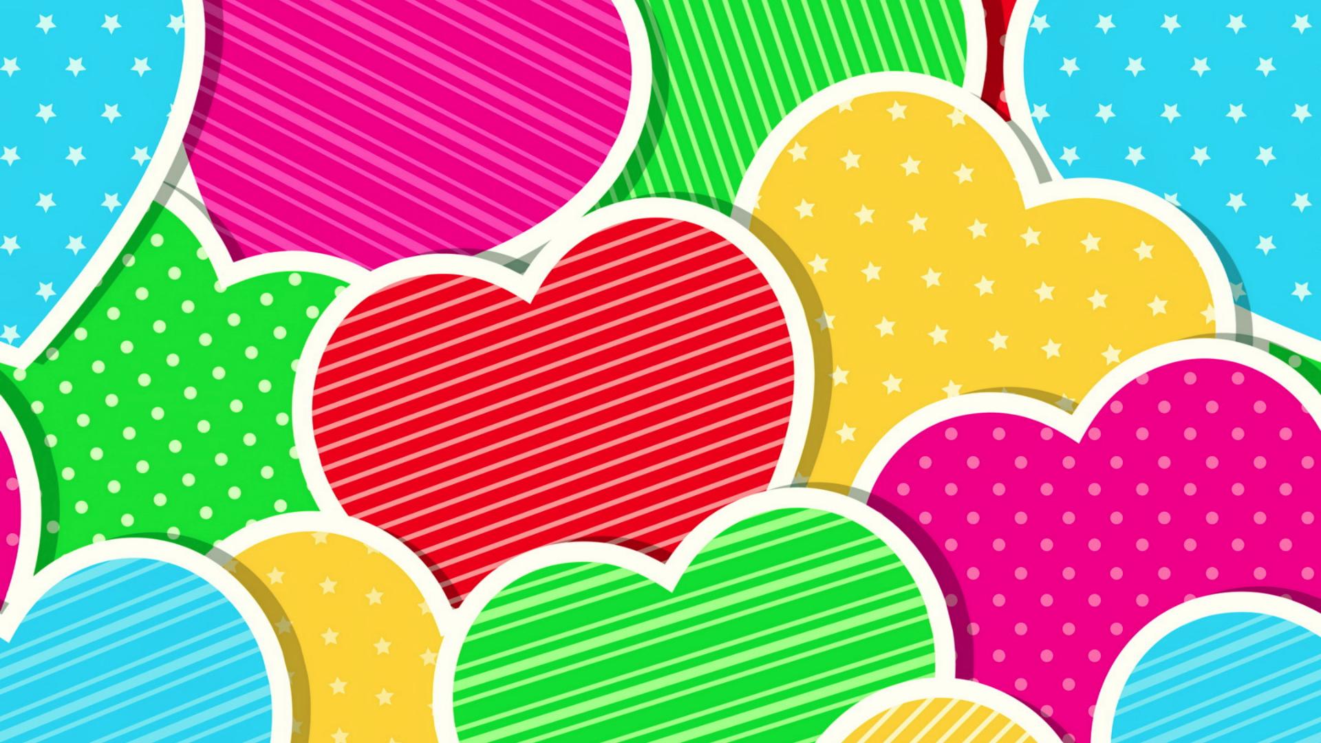 Rainbow Heart Wallpaper - WallpaperSafari - photo#46