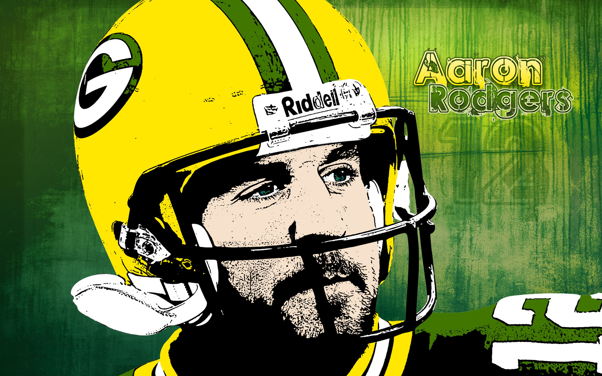 Aaron Rodgers   Green Bay Packers wallpaper 18507 1920x1200
