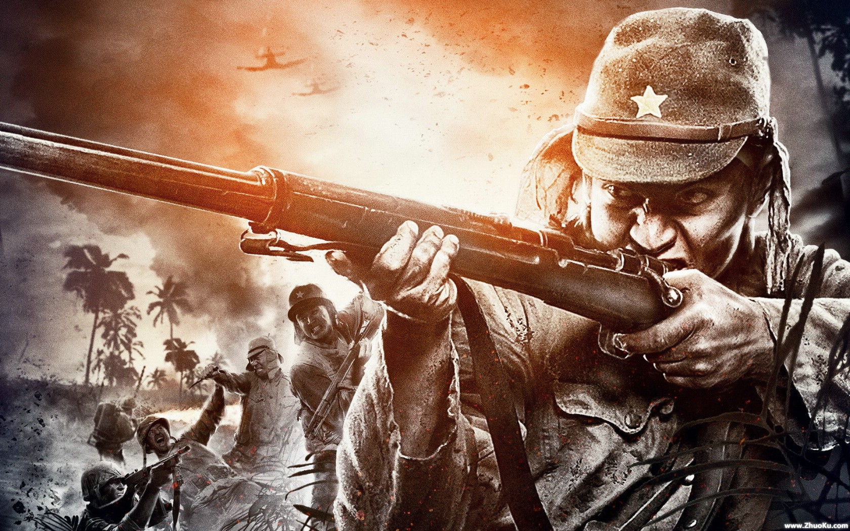 Call Of Duty Ww2 Zombies Wallpaper: COD WAW Wallpapers