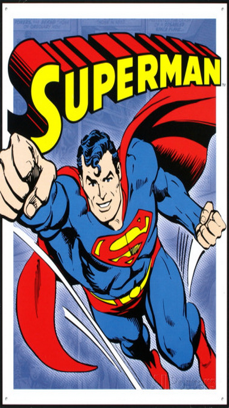 Superman iPhone 6 Wallpaper 750x1334