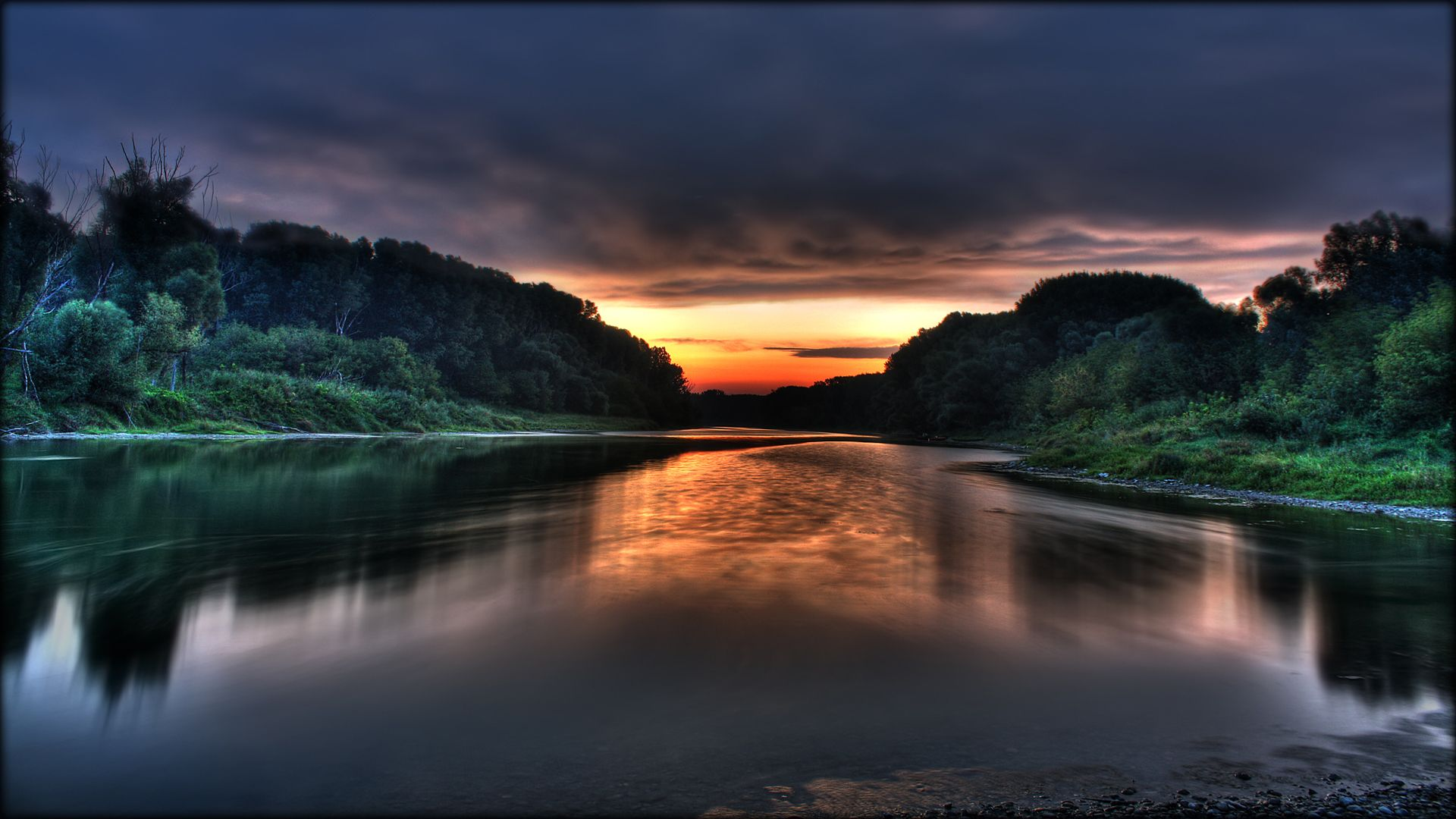Nature Sunset Wallpaper Hd 1080p Wide Screen Wallpaper 1080p2K4K 1920x1080