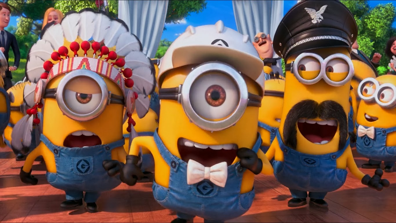 minion wallpaper dance minion wallpaper when dance minion in 1366x768