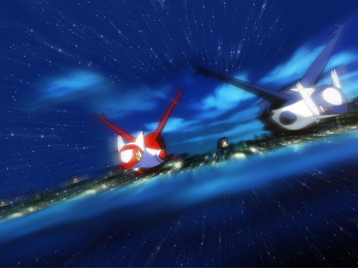 Latias and Latios images Eons HD wallpaper and background photos 1152x864