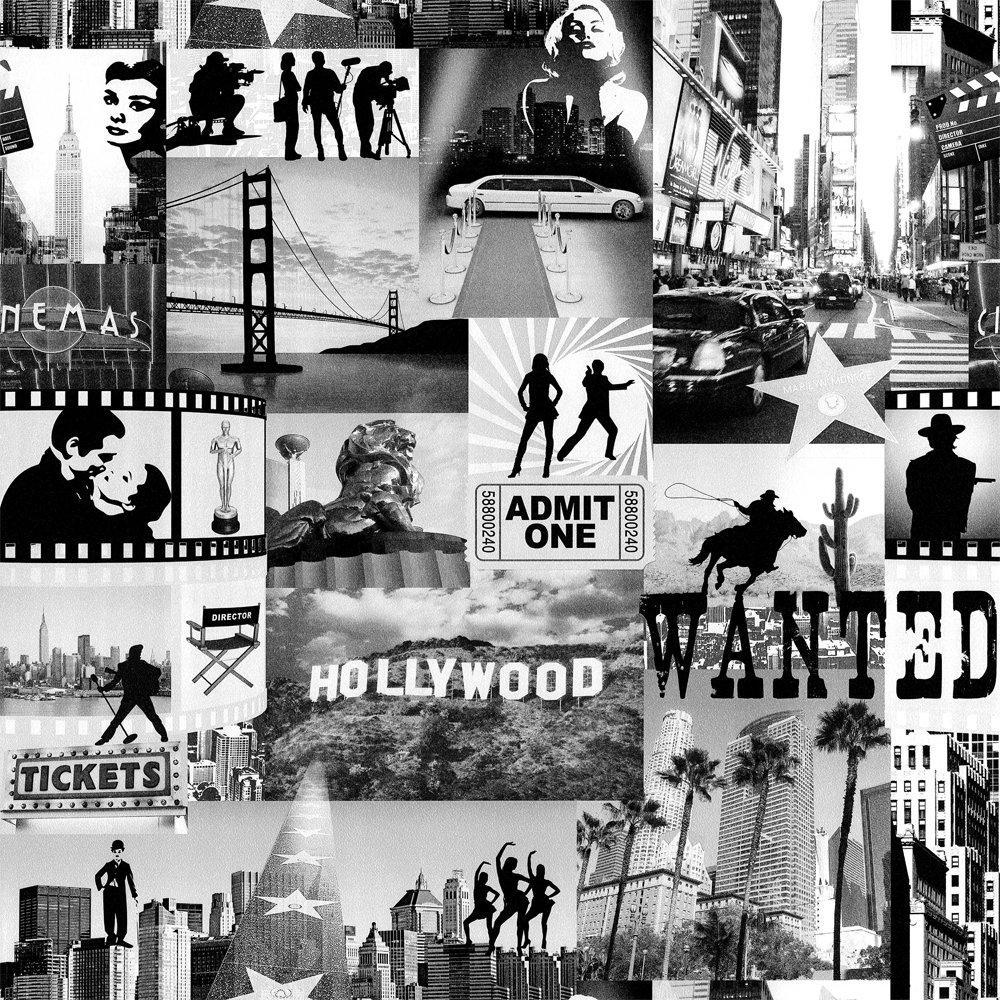 Wallpaper Muriva Hollywood 1000x1000