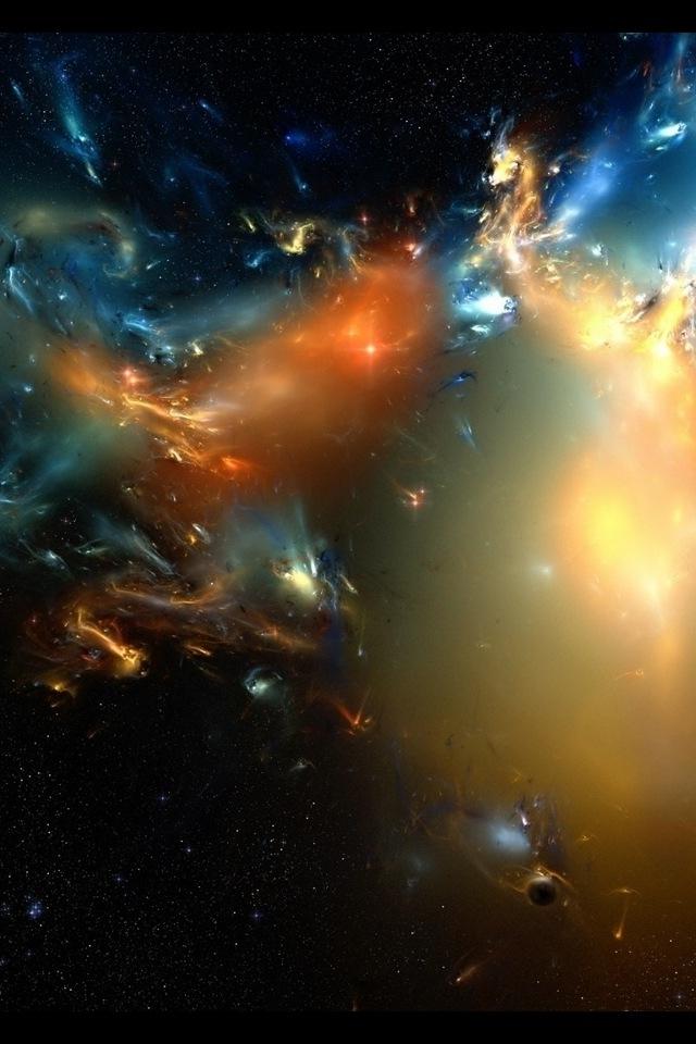 Outer Space Phone Wallpaper - WallpaperSafari