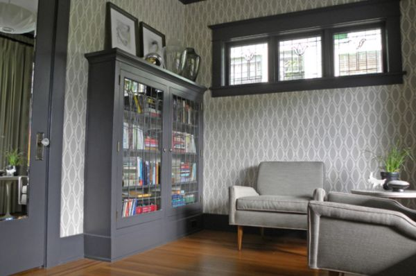 How To Use Gray Successfully In A Living Room 600x398